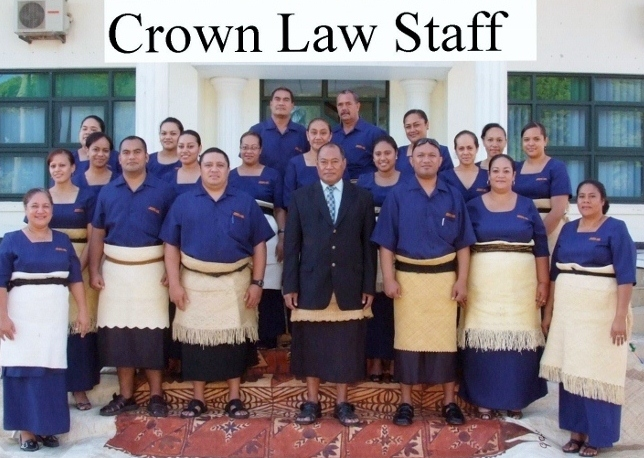 Crown Law Staff